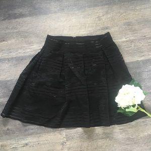 Torrid Black Skirt-size 1